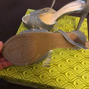 Gianni Bini Shoes - Gianni Bini silver pumps. Perfect for prom